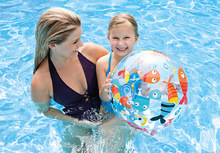 INTEX inflatable pool floats for kids children swimming ring beach ball inflatable handball 59040 51CM