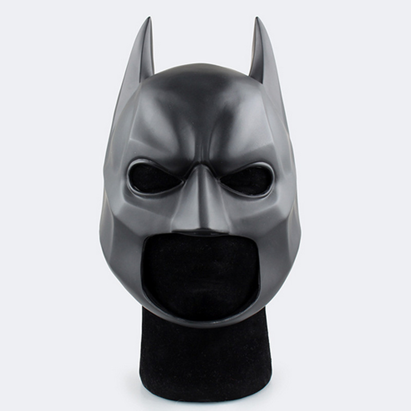 New Movie Figure The Dark Batman Soft Helmet Cosplay Mask PVC Action Figure Toy Christmas Gift New Year<br><br>Aliexpress