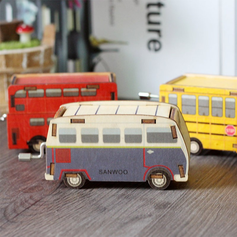 Hand-Ridel-Music-Box-Mini-Bus-Birthday-Gift-Wood-Mechanism-Toy-Musical-Instrument-TC0019 (5)