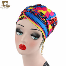 African design Headscarf long Head scarf Jewish Headcover Turban shawl Warp Hair African Headwrap Bohemian Headwrap Chem