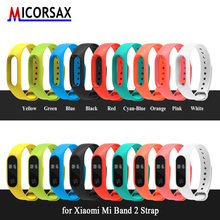 Buy Hot Smart Bracelet Accessories Band Xiaomi Mi Band 2 Strap Replacement Wristband MiBand 2 Colorful Silicone Straps for $1.40 in AliExpress store