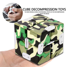 Buy MUQGEW 2017 New Arrival Hot Sale Luxury EDC Infinity Cube Mini Stress Relief Fidget Anti Anxiety Stress Funny Squeeze Cube for $5.39 in AliExpress store