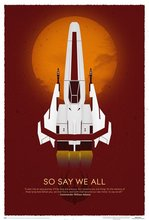 Battlestar Galactica 10th Anniversary Art Print Canvas Print(50X75) home decor