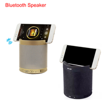 Wireless Bluetooth 4.1 Speaker Large Power Portable FM Radio Speaker Support SD Card Tablet Cell Phone Holder Speaker Outdoor(China)