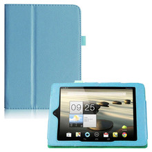 Litchi Pattern Pu Leather Stand Case Cover For Acer Iconia Tab A1-810 Tablet  Book Case For Acer A1-811 7.9 inch Accessories