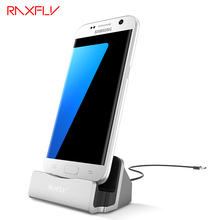 RAXFLY Android Micro USB Charge Phone Holder For Samsung Huawei Mate Xiaomi Oneplus Blackview HTC LG Sync Cable Dock Accessories