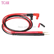 1 Pair Universal Needle Tip Probe Test Leads Pin For Digital Multimeter Meter Tester #S018Y# High Quality