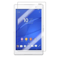 "9H Tempered Glass Screen Protector Film for Sony Xperia Tablet Z3 8"" + Alcohol Cloth + Dust Absorber"