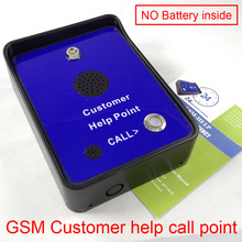 GSM emergency help calling phone GSM service intercom help call point(China)