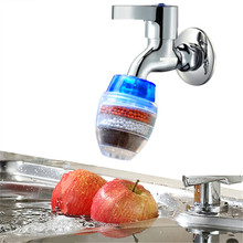 Kitchen Simple installation Faucet Water Filter Cocoanut Active Charcoal Remove Chlorine Water Purifier 3PCS/lot