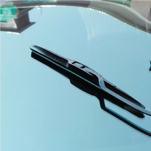 "Universal 22"" car wiper blades Soft silicone Rubber WindShield Wiper Blade wiper arm windscreen auto accessories Free Shipping"