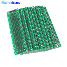 5PCS Double Side Prototype PCB Bread board Tinned Universal 2x8 cm 20mmx80mm FR4(China)