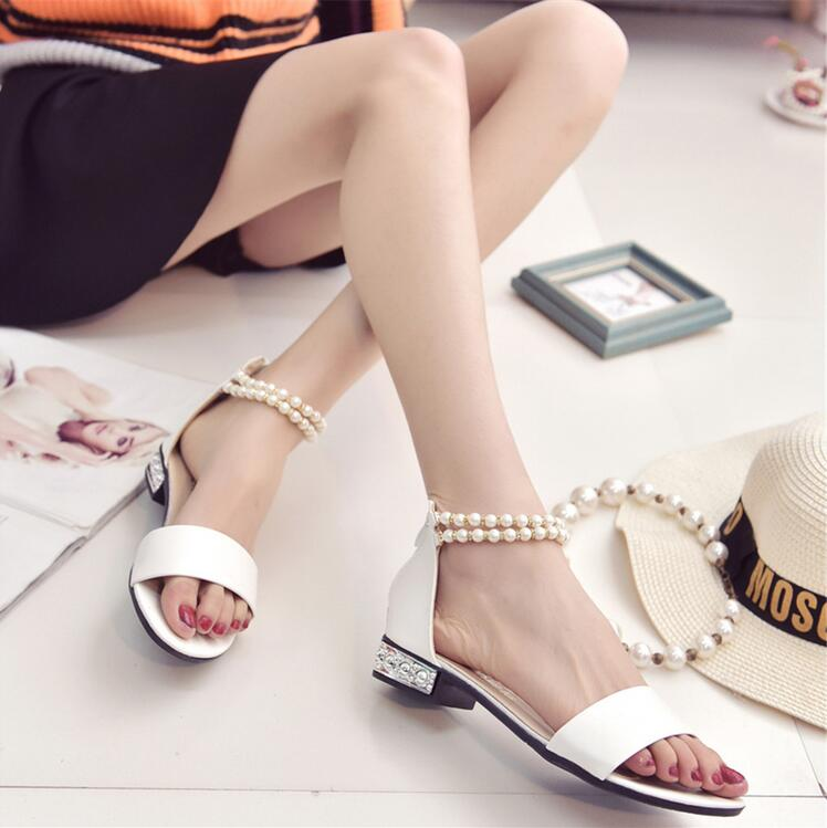 Summer Flat Sandals Ladies Bohemia Beach Flip Flops Shoes Gladiator Women Shoes Sandles platform Zapatos Mujer Sandalias<br><br>Aliexpress