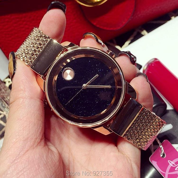 Top Quality Luxury lady Crystal Watch Women Gold Dress Watch.Fashion Gift Rhinestone Watches Female black Wristwatches Mashali<br>