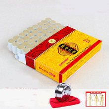 54pcs 10 years moxibustion column acupuncture massage wormwood leaves moxibustion Article with burning box and chart(China)