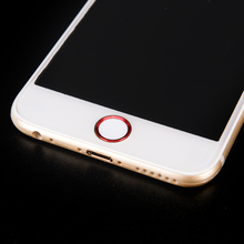 Touch ID Home button Sticker protector keypad keycap for iPhone 5s 6 6s 7 7S Plus Support Fingerprint Unlock Touch key ID(China)