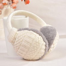 2017 Winter Warm Earmuffs Knitted Children Ear Muffs For Boy Earmuffs For Girls Baby Gift Ear Warmers