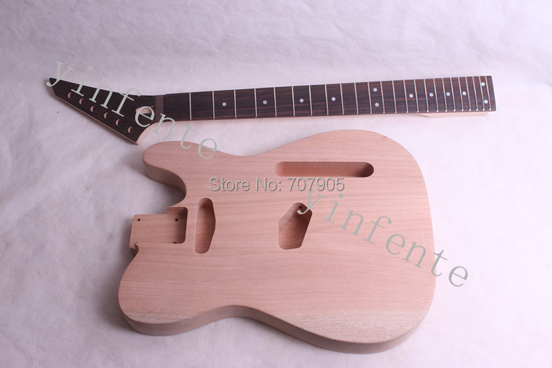 Electric guitar body Unfinished Mahogany body Humbuckers hole 1 set<br><br>Aliexpress