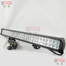 1pcs 28''180w led bar offroad + wires truck 4X4 4WD driving lighting led lightbars spot flood 12v 24v led lamp offroad lights(China)