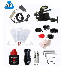 New Tattoo Machine Equipment Set Starter Kit 1 Guns Supply Body Art elephant kit