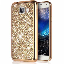 Buy Fashion Bling Back Soft Cover Case Samsung Galaxy S8 Plus J1 J3 J5 Prime 2016 S5 A3 A5 2015 S6 S7 Edge G530 Phone Protector for $1.16 in AliExpress store