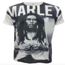 Factory direct sale BOB marley digittal printing 3D model style breaking bad t shirt(China)