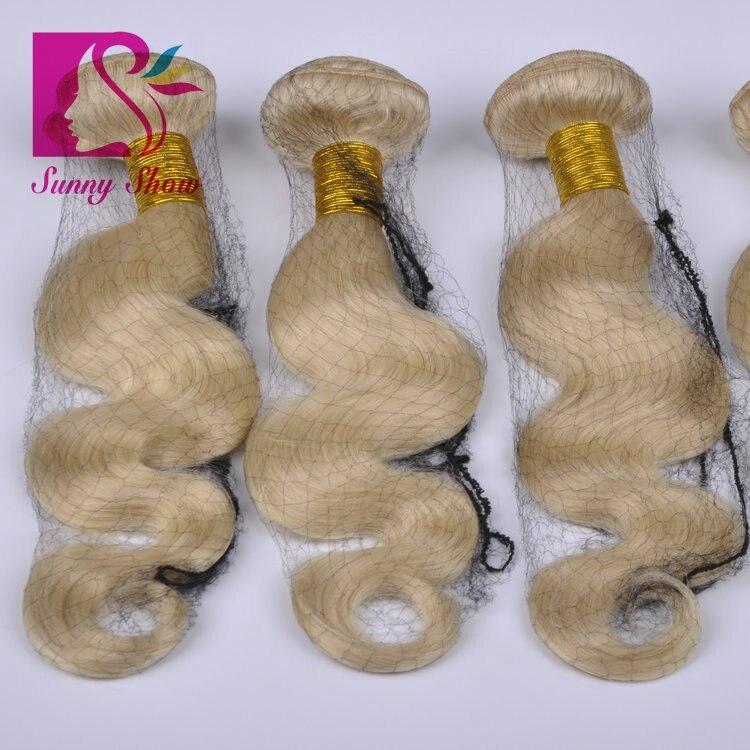 Queen Weave Beauty 613 Blonde Virgin Hair Body Wave 3 Bundles Lot 100% Unprocessed Russian Blonde Human Virgin Hair Extension<br><br>Aliexpress
