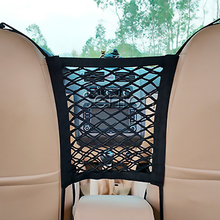 Car Storage Holder Seat Mesh Net For Mercedes W203 W211 W204 W210 BENZ AMG W205 W212 Accessories For Buick Cadillac CTS SRX ATS