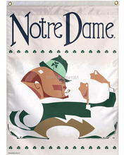 Notre Dame Fighting Irish Throwback House Helmet Team American Outdoor Indoor Football College House Flag 3X5 Custom Any Flag
