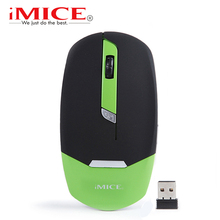 New Optical  Wireless Mouse USB Computer Mice Gaming Mouse  Mini Super Slim Raton Inalambrico USB Receiver  2.4G 4 Buttons