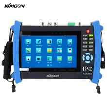 KKmoon 7inch Touch Screen IP Camera Tester 1024*600 Onvif CCTV Tester SDI/AHD/TVI/CVI HDMI 1080P/PTZ/POE/WIFI/FTP IPC-8600ADHS(China)