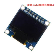 0.96 inch OLED display module 128X64 , OLED I2C IIC SPI 7p, driver chip SSD1306 for arduino Diy Kit