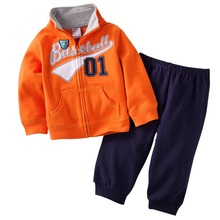 Children Sport Suits Kids Tracksuits Baseball Baby Boys Outfits Coats Jacket+Pants Sets Boy Clothes Suit Jumping Beans Cotton