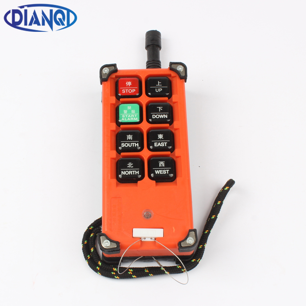 DIANQI industrial remote controller  1 transmitter switch<br>