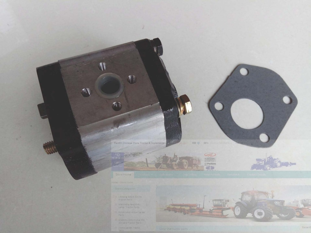 FT254.58.010, Foton Lovol FT254 TE254 tractor , the gear pump  (Pump Manufacturer number CBJ26-E14,CBJ30-F14L-W5B) <br>