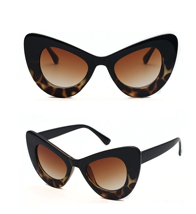 2018 Cat Eye Sunglasses Women Brand Designer Ladies Sun glasses Vintage Sexy Eyewear Shades Sunglasses For Women Sun Glasses (4)