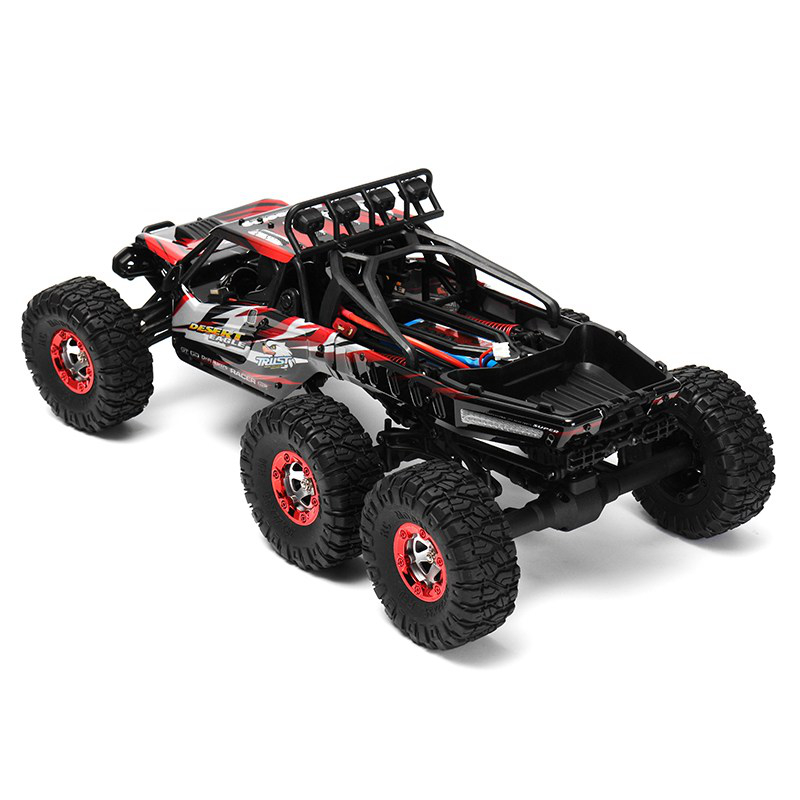06-7 FY06FY07 112 2.4GHz 6WD RC Off-road Desert Truck RTR 60km70km High Speed Metal Shock Absorber LED Lights boy best gift toy
