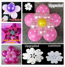 5pcs 11 in 1 Balloon Modelling Seal Clip Balloon Sticks double Flower Tie Latex Balloon Sealing Clips Wedding Party Decoration(China)
