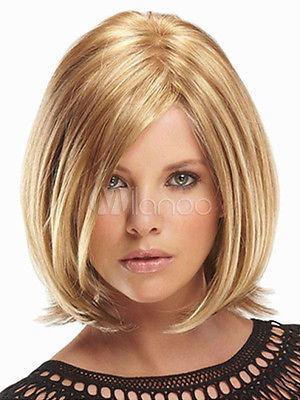 New Sexy Womens Short Mix Blonde Natural Hair wig Male Man Queen Fiber   hair Wigs  (D Special discount 35%)<br><br>Aliexpress