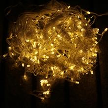 Warm White 304LED Icicle Curtain Fairy String Net Lights Wedding Party Xmas Christmas Home Decor LED Light String