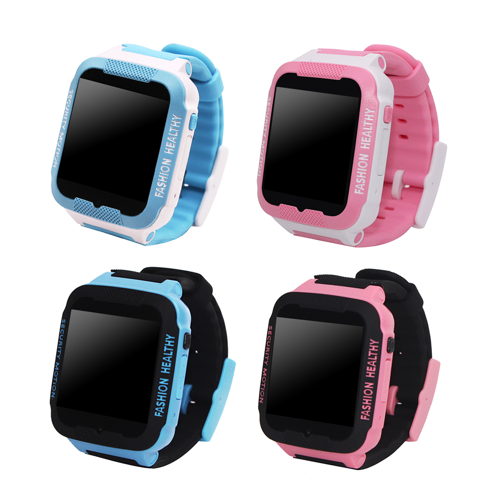 GPS Tracker Children Smart Watch Phone GPS Child Tracking Bracelet Kids 2G GSM Watches Wifi SOS Call Phone Call Telemonitoring(China)