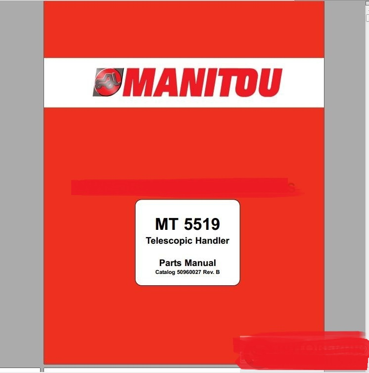 Manitou Forklift USA Full Set Model Parts Catalogu...