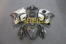 Gray silver Injection Fairing Body Work Frame Kit for SUZUKI GSXR 1300 GSXR1300 Hayabusa 1999-2007 2000 2001 2002 2003(China)