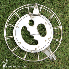 "9.5"" / 24CM Stainless Steel Ball Bearing Kite Reel Winder W/Lock Adults Use Kite String Winder For Large Parafoil Kite"