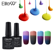 Elite99 Mood Changing Color Gel Nail Polish 32 UV Color Thermal Temperature Color Change Gel Varnish Nail Polish 10ML/PC