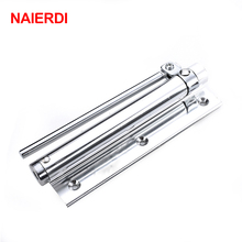 NAIERDI Adjustable 45KG Aluminum Door Closer Light Fire Rated Door Household With Automatic Door Spring Strength Door Weight(China)