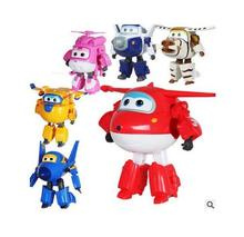 Super Wings Action Figure children's toys deformation robot package sheriff wonders of my world, baby toys