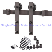 Dimon customized sliding door hardware America style sliding door hardware DM-SDU 7207 without sliding track(China)