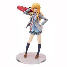 20cm Your Lie in April Miyazono Kaori Cute Girl 1/8 PVC Action Figure Model Toys Collection Gift WX229