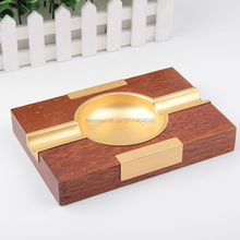 Fashion Novelty Unique Design Wooden Cigar Ashtray Large size top Grade Ash Tray(China)